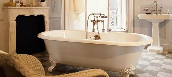 Wohnideen für luxuriöse Badezimmer Wohnideen Badezimmer retro stil1 600x270