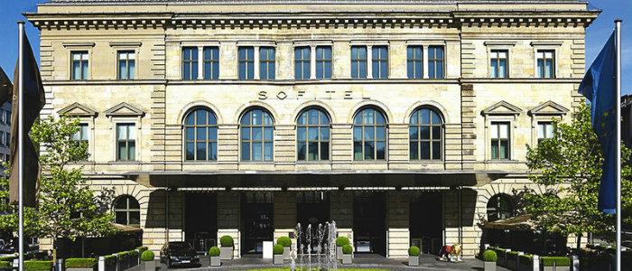 Sofitel Munich Bayerpost Hotel wohnen mit klassikern Das Sofitel Munich Bayerpost