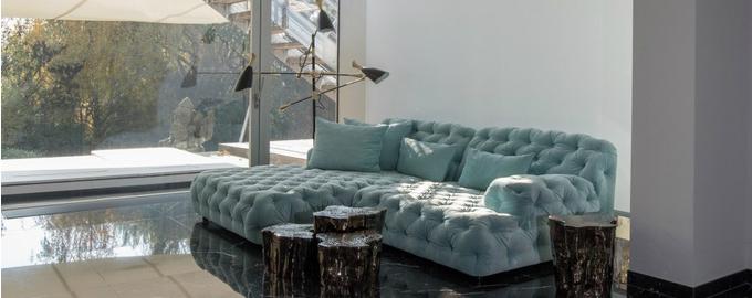 Klassische Moderne Architektur: Wohnzimmer Design Ideen ...