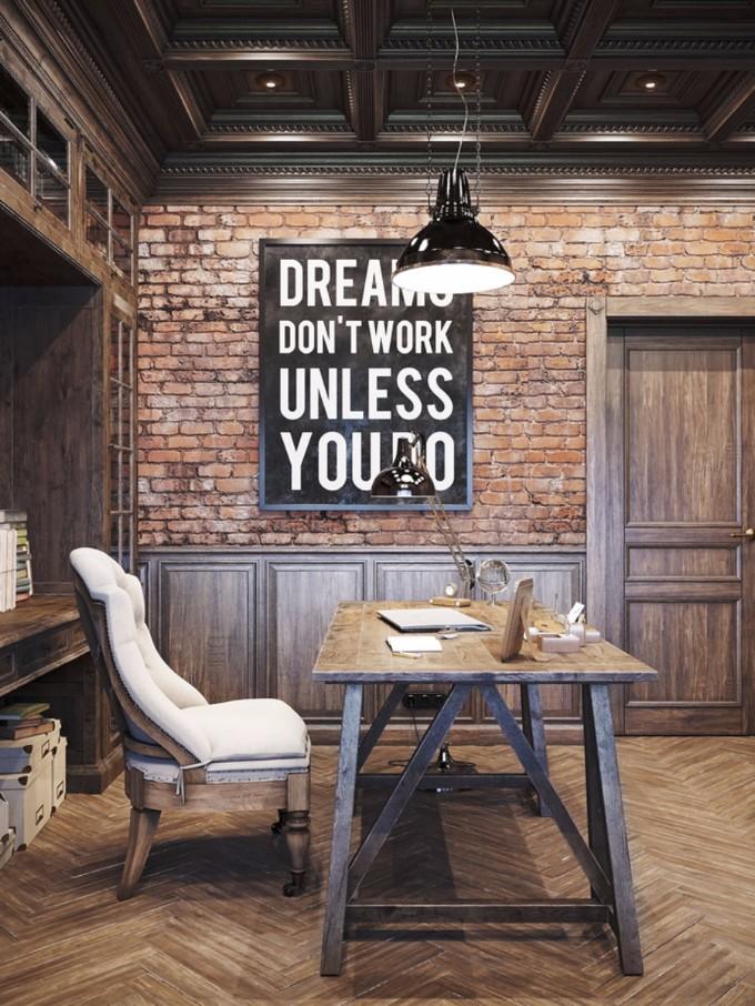 So Bekommen Sie Den Vintage Industrial Style In Ihren Wohnzimmer Wohnen Mit Klassikern