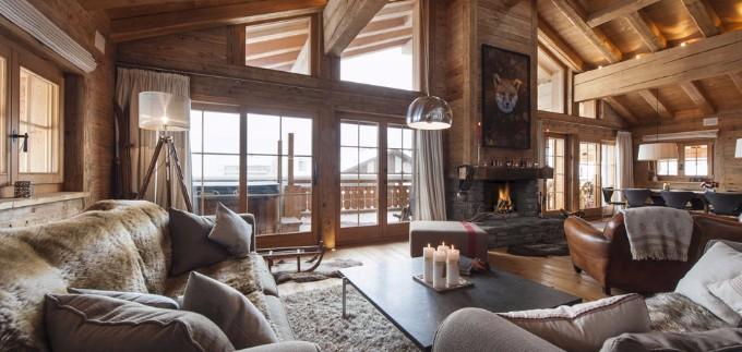 luxus chalets Atemberaubende Luxus Chalets für Winterurlaub in der Natur 22f8612816f501293ec40ec54385e4dc