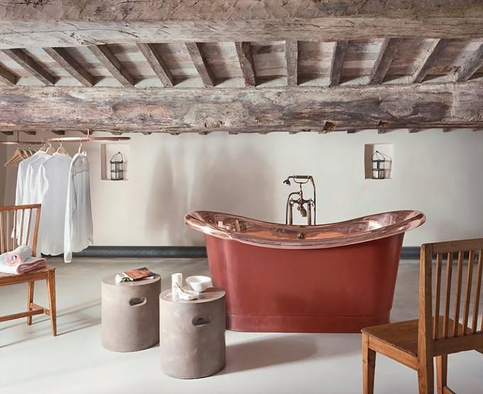 Atemberaubende Luxus Chalets für Winterurlaub in der Natur luxus chalets Atemberaubende Luxus Chalets für Winterurlaub in der Natur 3 Bathtub