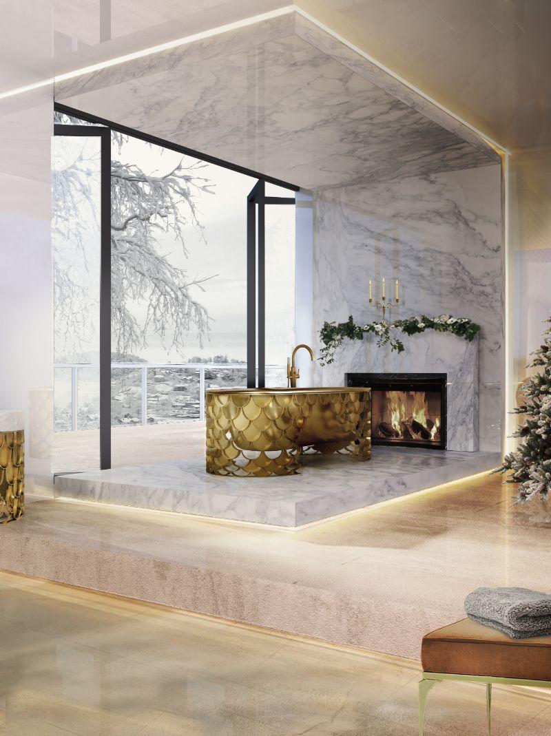 winter chalets Erstaunliches Winterchalets-Dekor für diesen Winter 4 1