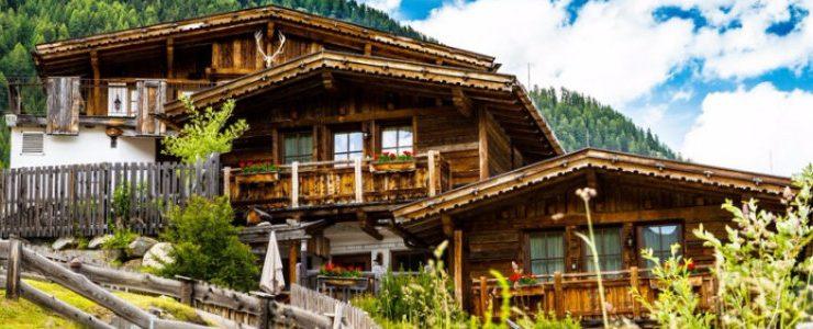 chalets dekor Atemberaubende Chalets Dekor für Sommerurlaub in der Natur capa 1 740x300