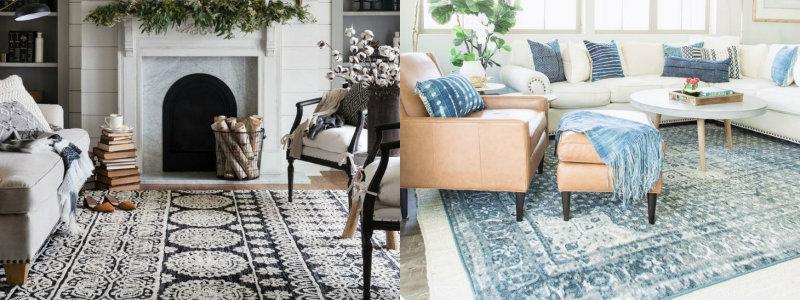 moderne teppiche Moderne Teppiche für ein außergewöhnliches Design collage 2