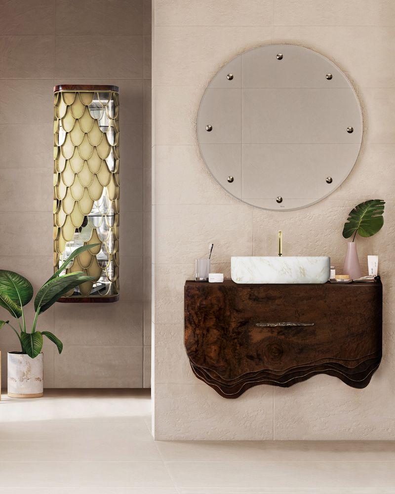 Das Herbst-Badezimmer: Luxus und Herbst kommen zusammen 100 1 1