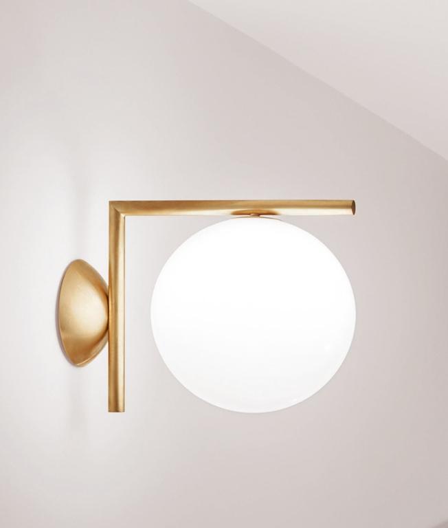 Light and building 2020: Die unglaubliche Wandleuchte-Designs Flos IC CW1 Wall Light