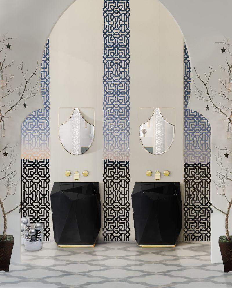 Unglaubliche Winter-Inspirationen für ein luxuriöses Badezimmer 117 1