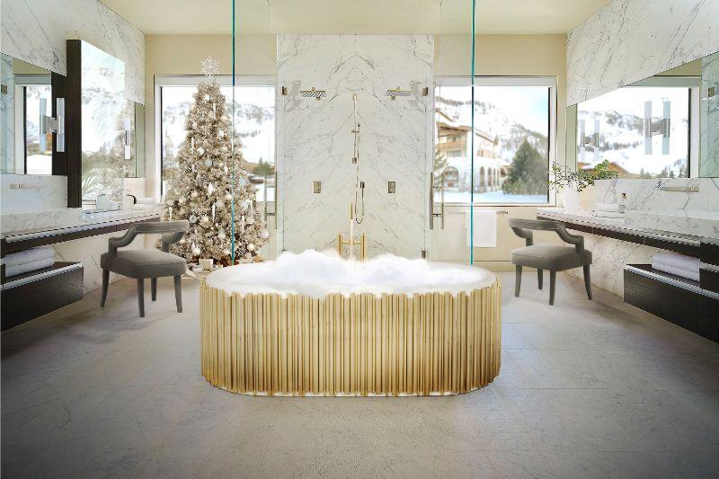 Unglaubliche Winter-Inspirationen für ein luxuriöses Badezimmer 118 1