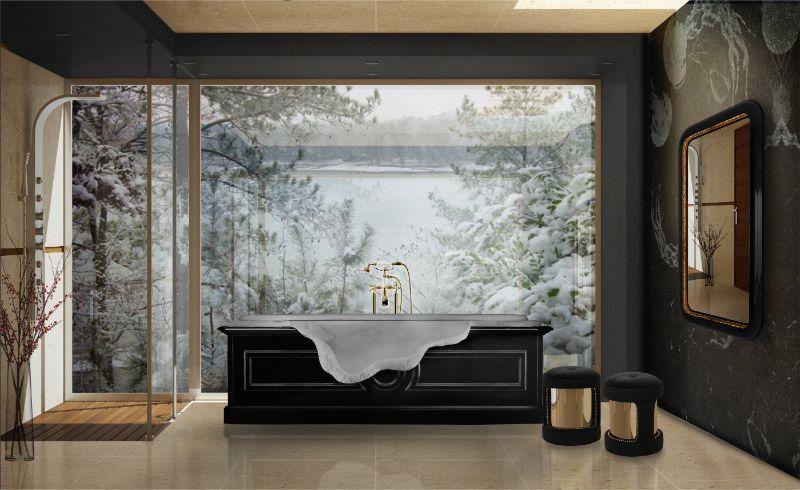 Unglaubliche Winter-Inspirationen für ein luxuriöses Badezimmer 55 petra bathtub ambience 1 HR