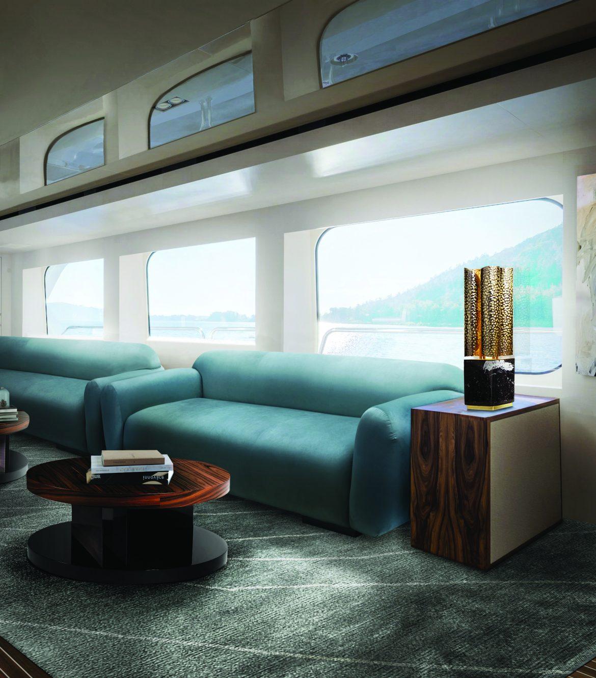 2020 Wohnzimmer Neuheiten: Couchtische amb BB yacht
