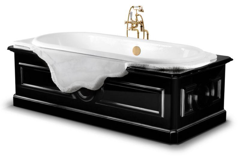 Unglaubliche Winter-Inspirationen für ein luxuriöses Badezimmer petra bathtub 2 HR