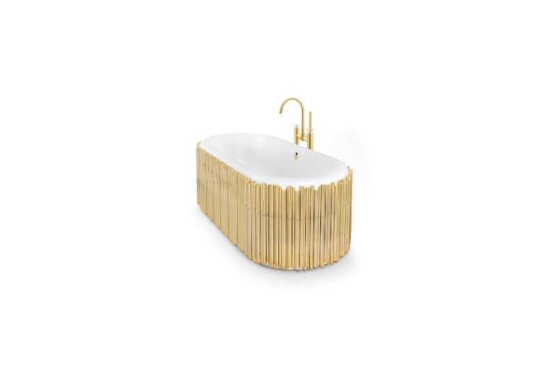 Unglaubliche Winter-Inspirationen für ein luxuriöses Badezimmer symphony oval bathtub 2 HR